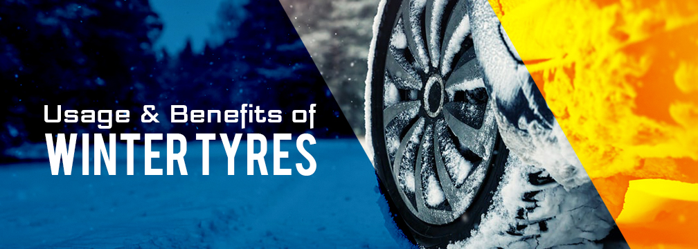 Advantages of winter tyres